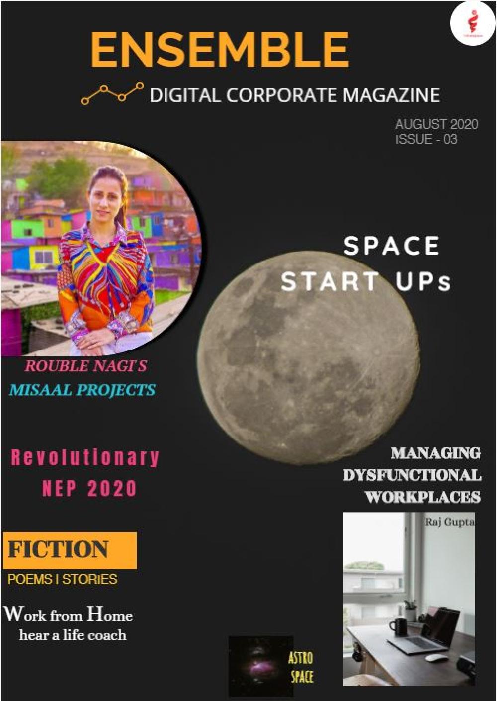 Digital corporate magazine india